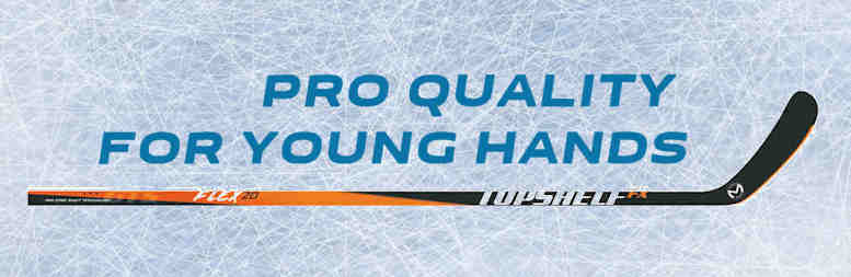 New Topshelf FX Series Junior Hockey Sticks Hit the Ice